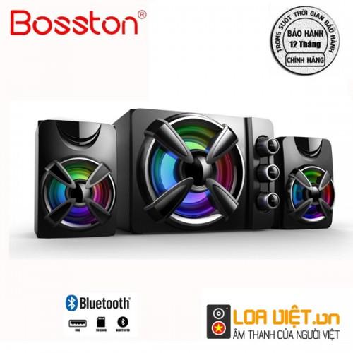 Loa Bluetooth Bosston T1650-BT 2.1 Đèn Led RGB
