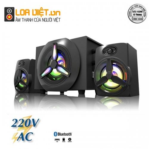 Loa Bluetooth Bosston T1750-BT 2.1 Đèn Led RGB