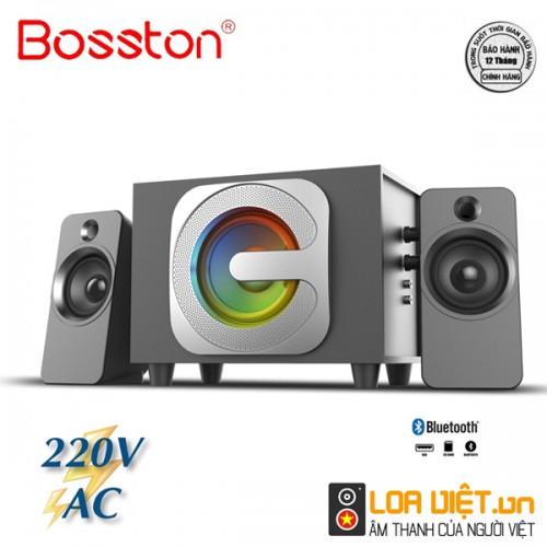 Loa Bosston Bluetooth T3650-BT 2.1 Đèn Led RGB