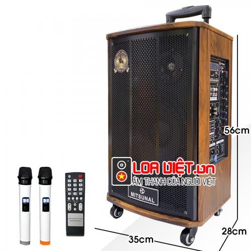 [Loa Việt] Loa kéo di động Mitsunal  M30 - Bass 25