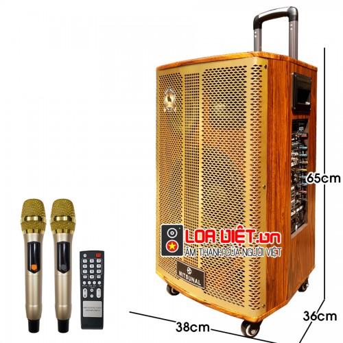 [Loa Việt] Loa kéo di động Mitsunal M62 - Bass 30