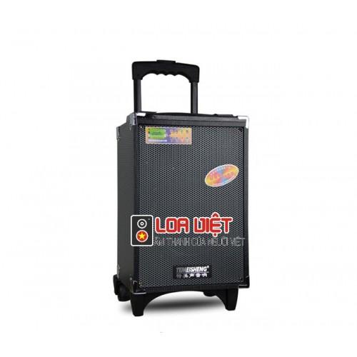 Loa vali kéo Temeisheng A8-5 chính hãng - Tặng kèm 1 mic cầm tay
